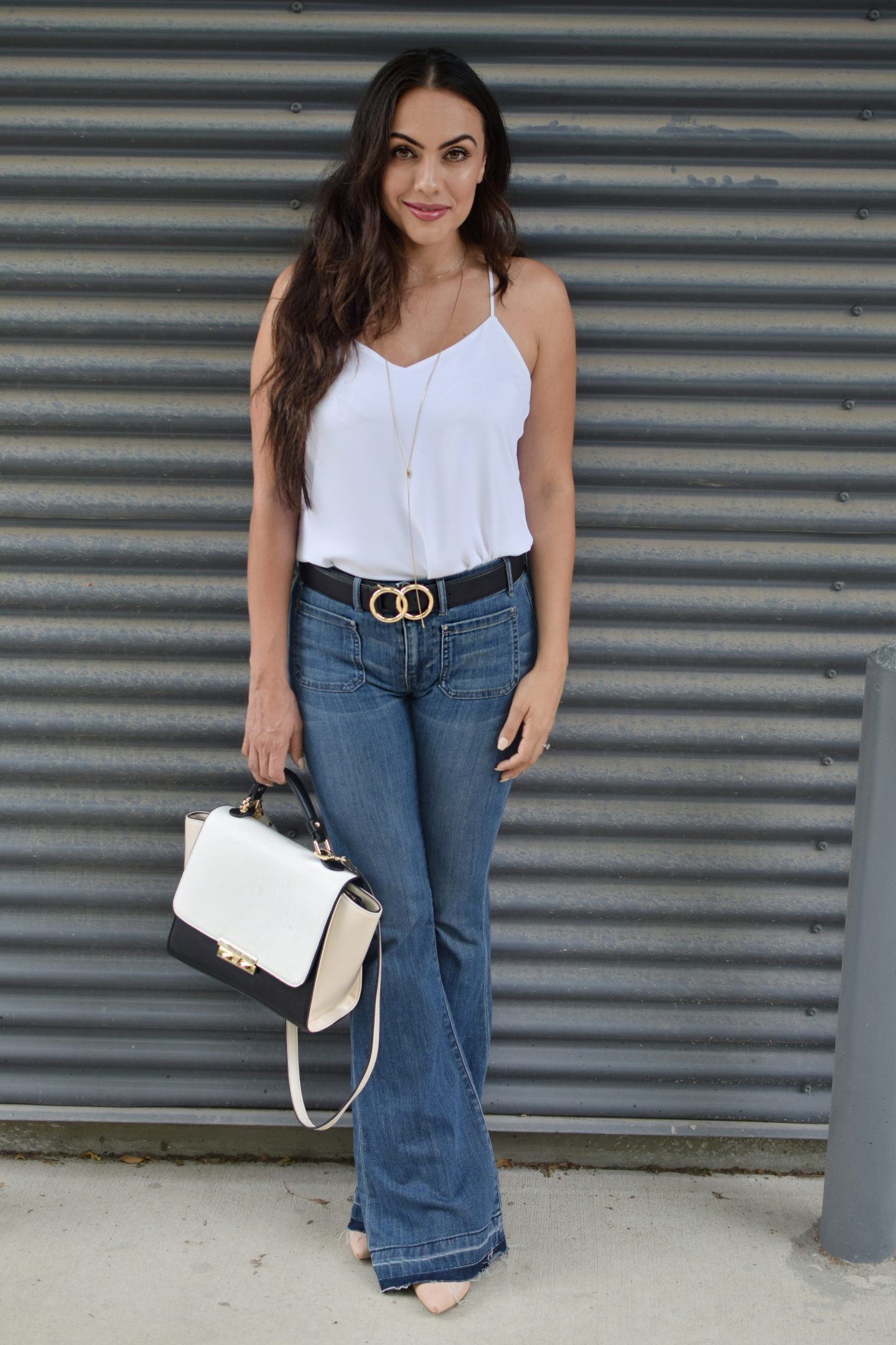 HOW I STYLE FLARE JEANS